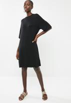 Superbalist - T-shirt dress - black
