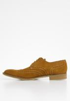 Watson - Adam suede brogue - brown