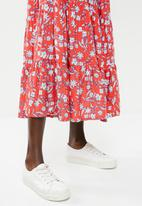 Superbalist - Babydoll tiered dress - multi