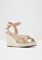 ALDO - Alaredda leather heel - beige