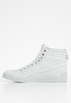 Diesel  - D-string plus - sneaker mid - white