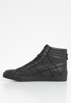 Diesel  - D-string plus - sneaker mid - black