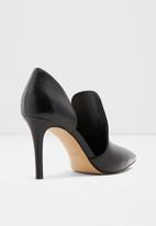 ALDO - Eladrielia leather heel - black