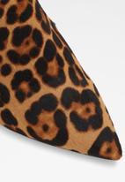 ALDO - Eladrielia leather stiletto heel - brown & black