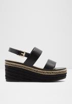 ALDO - Ladolian leather heel - black