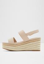 ALDO - Ladolian leather heel - pink