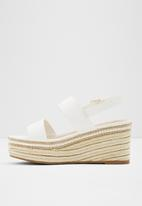 ALDO - Ladolian leather heel - white
