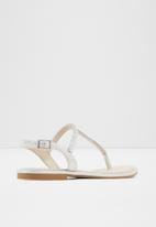 ALDO - Sheeny sandal - 040 silver