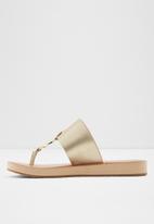 ALDO - Yilania sandal - metallic