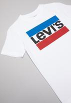 Levi's® - Levi's boys graphic tee - white