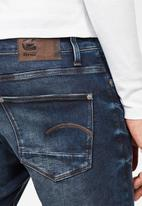 G-Star RAW - Revend skinny  jeans - worn in wave destroyed