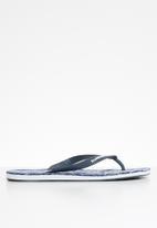 Superdry. - International flip-flop - navy & white