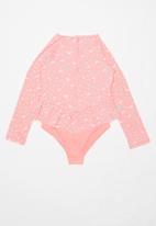 Roxy - Splash party onesie - pink