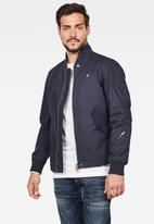 G-Star RAW - Stadial bomber jackets  - mazarine blue