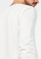 G-Star RAW - Motac grandad r t long sleeve t-shirts - milk