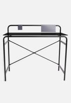 Basics - Tom study desk - charcoal