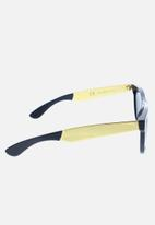 SUPER By Retrosuperfuture - Francis classic wayfarer sunglasses - black gold