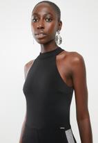 Sissy Boy - Hot spark jumpsuit - black