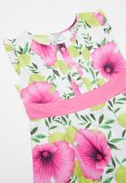 POP CANDY - Printed dress  - pink & green