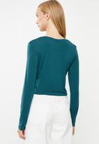 Cotton On - Baby tee long sleeve  - blue