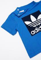 adidas Originals - Short tee set - navy & white