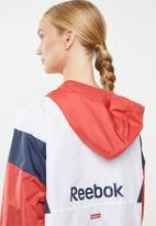 Reebok - Linear logo windbreaker - multi