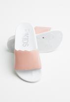 Cotton On - Scallop slide - pink