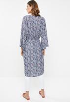 edit - Short kimono - multi