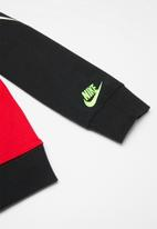 Nike - French terry crew - black & red