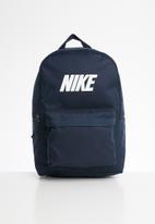 Nike - Nike heritage  backpack - navy
