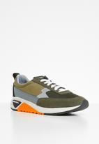 Diesel  - S-kb low lace ii - sneakers - olive night & olive wood
