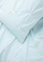 Sheraton Textiles - Lufly duvet cover set - blue