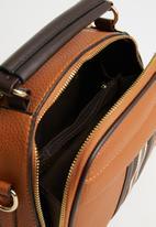 STYLE REPUBLIC - Stripe detail handbag - tan