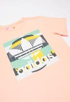 adidas Originals - Teens originals tee - peach