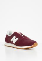 New Balance  - 220 70's classic running - red & white