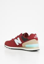 New Balance  - 574 Seasonal Pack - red