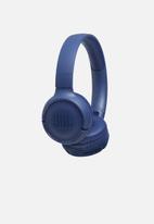 JBL - Tune 500 bluetooth wireless on-ear headphones - blue