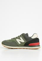 New Balance  - 574 Seasonal Pack - green & red