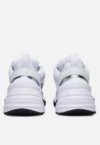 Nike - M2K Tekno Essential - white / white-metallic silver-black