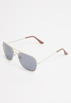 Superbalist - Jouet sunglasses - black & gold