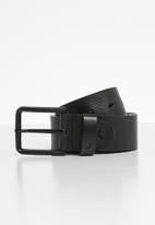 POLO - Roland leather belt - black