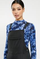 Missguided - Shell dungaree - black