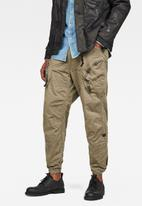 G-Star RAW - Rovic 3D airforce relaxed pants - khaki