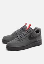 Nike - Air force 1 '07 - anthracite/black-university red-black