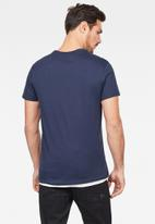 G-Star RAW - Graphic 12 r t s\s - blue