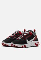 Nike - React Element 55 - black / white-gym red-summit white