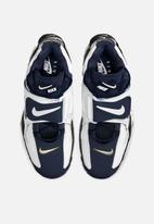 Nike - Air Barrage mid - white / midnight navy-black-laser orange