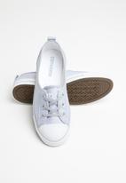 Converse - Chuck Taylor All Star Ballet Lace stripes slip - blue granite