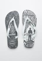 Havaianas - Top Harry Potter flip flops - white