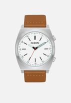Nixon - Brigade leather - cream & grey